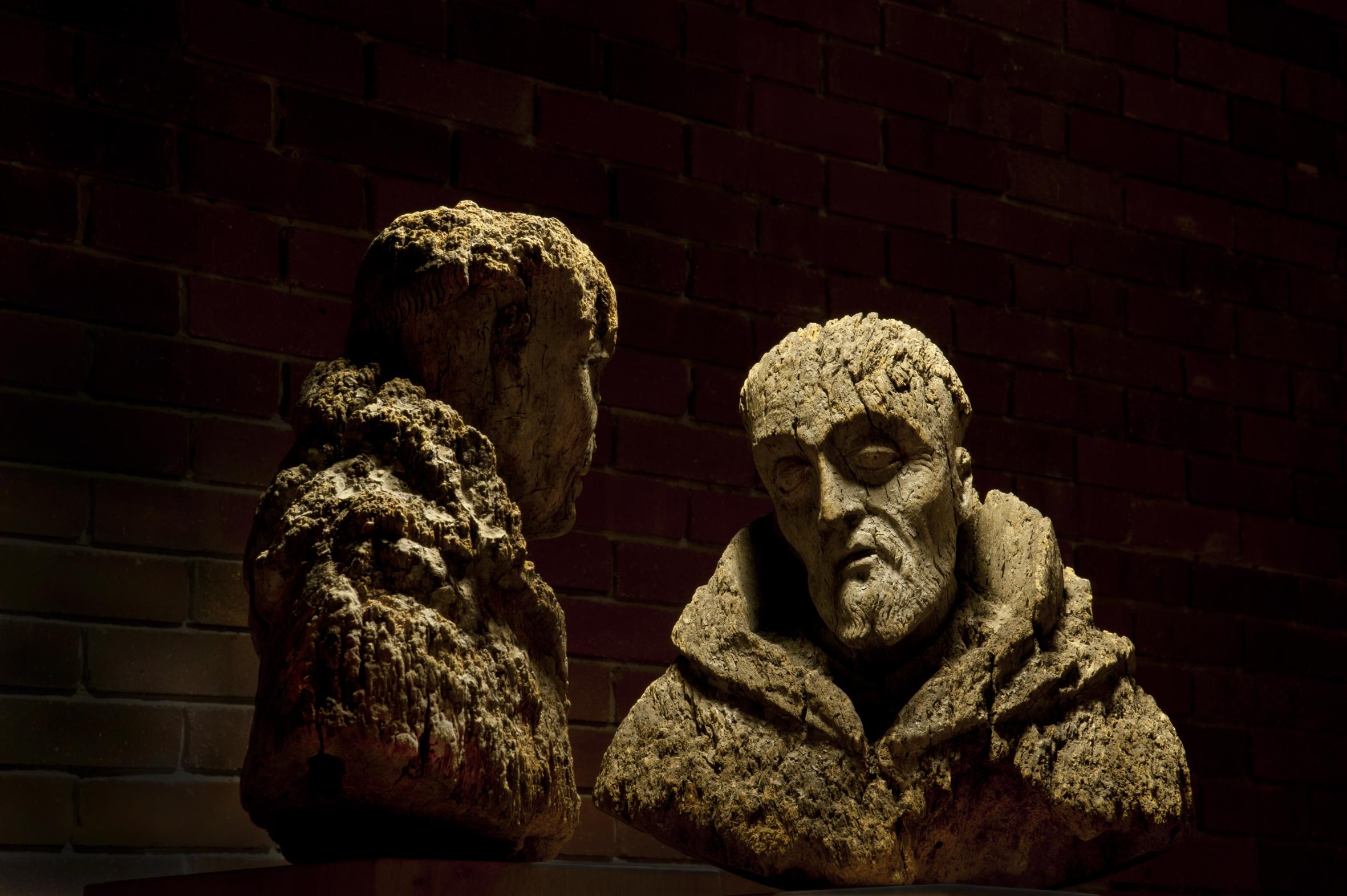 Homo Anobium St. Francis 100% Sculpture Czekalska+Golec