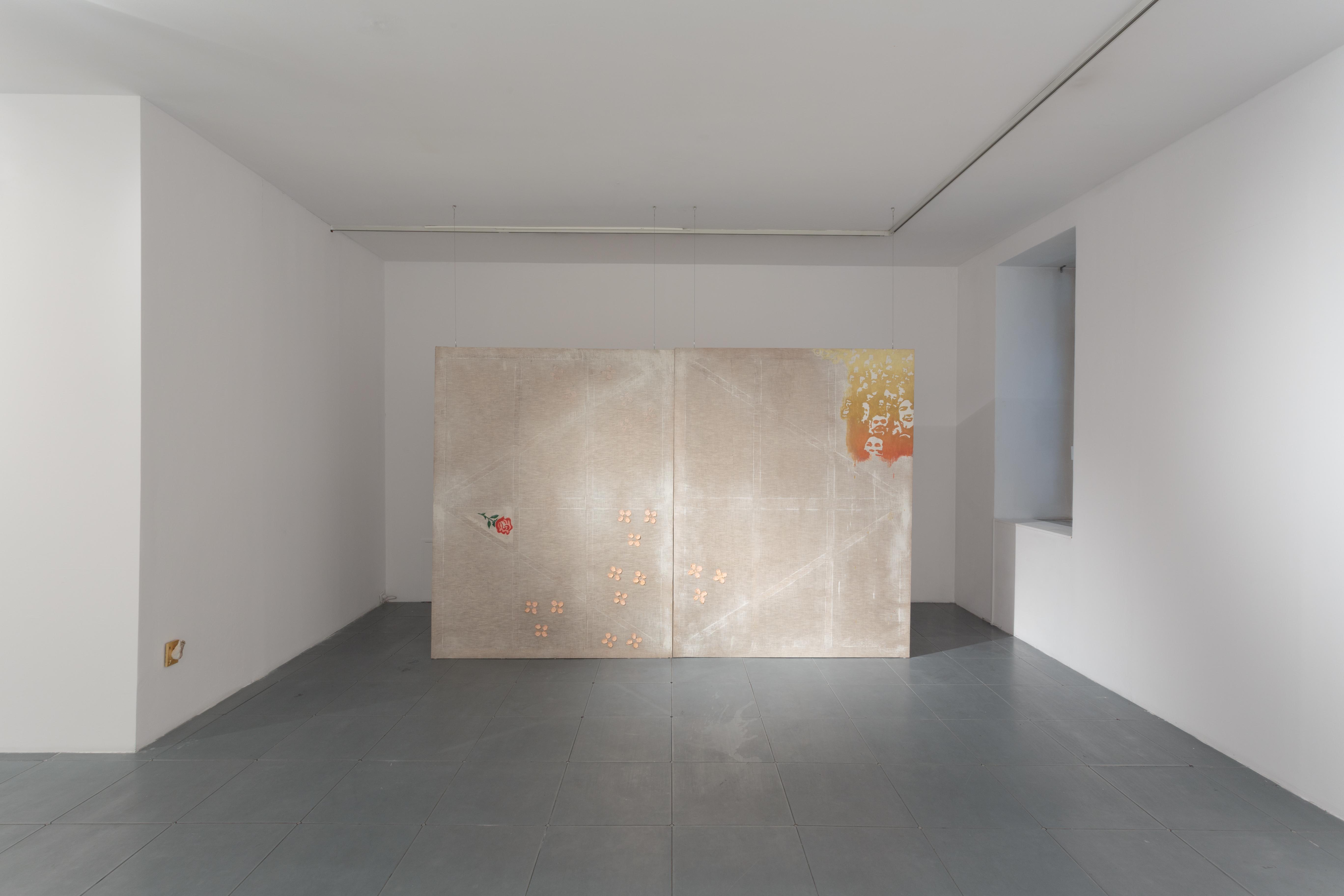 """Jiri David, """"...bezczasowy czas - faktycznie nic się niedzieje!"""", widok wystawy, dzięki uprzejmości Galerii Le Guern iartysty"""