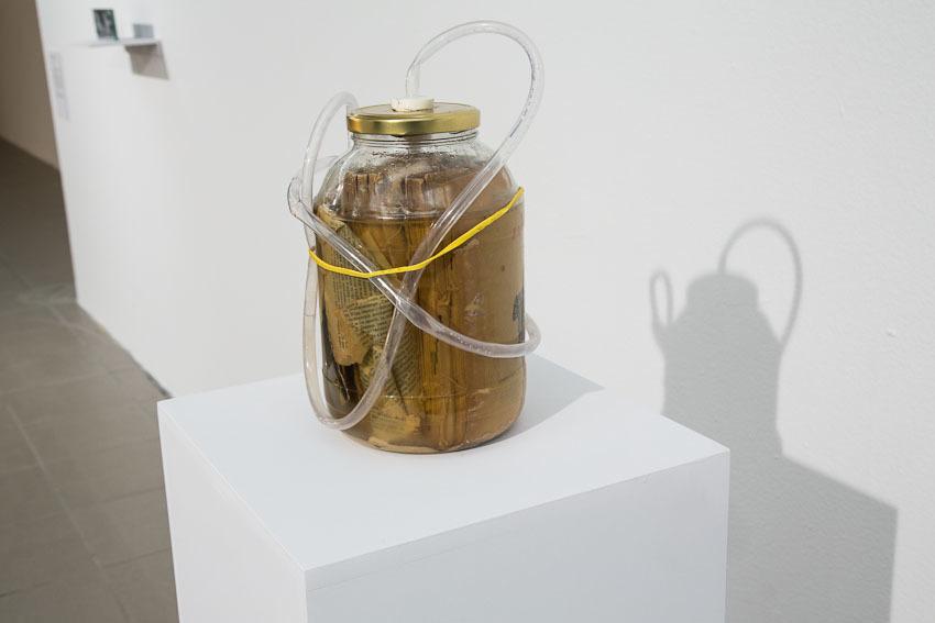 "Bartek Buczek, ""Ekstrakt"", 2014,  obiekt"
