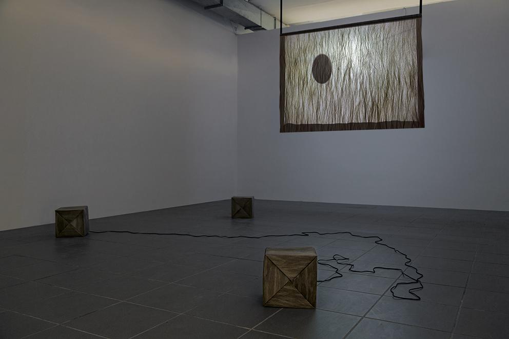 Iza Tarasewicz, Beztytułu, 2014, instalacja