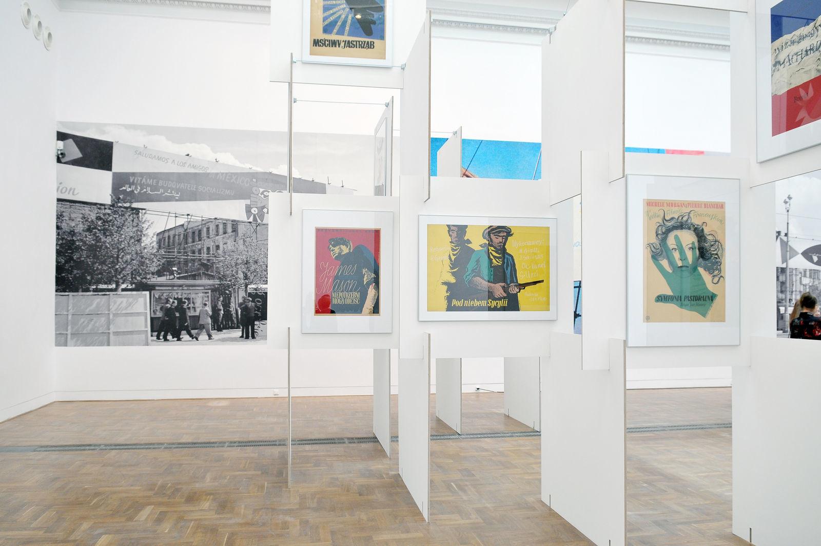 Byłem, czego iwam życzę. Henryk Tomaszewski, widok ekspozycji, Zachęta – Narodowa Galeria Sztuki, Warszawa 2014, fot.Marek Krzyżanek