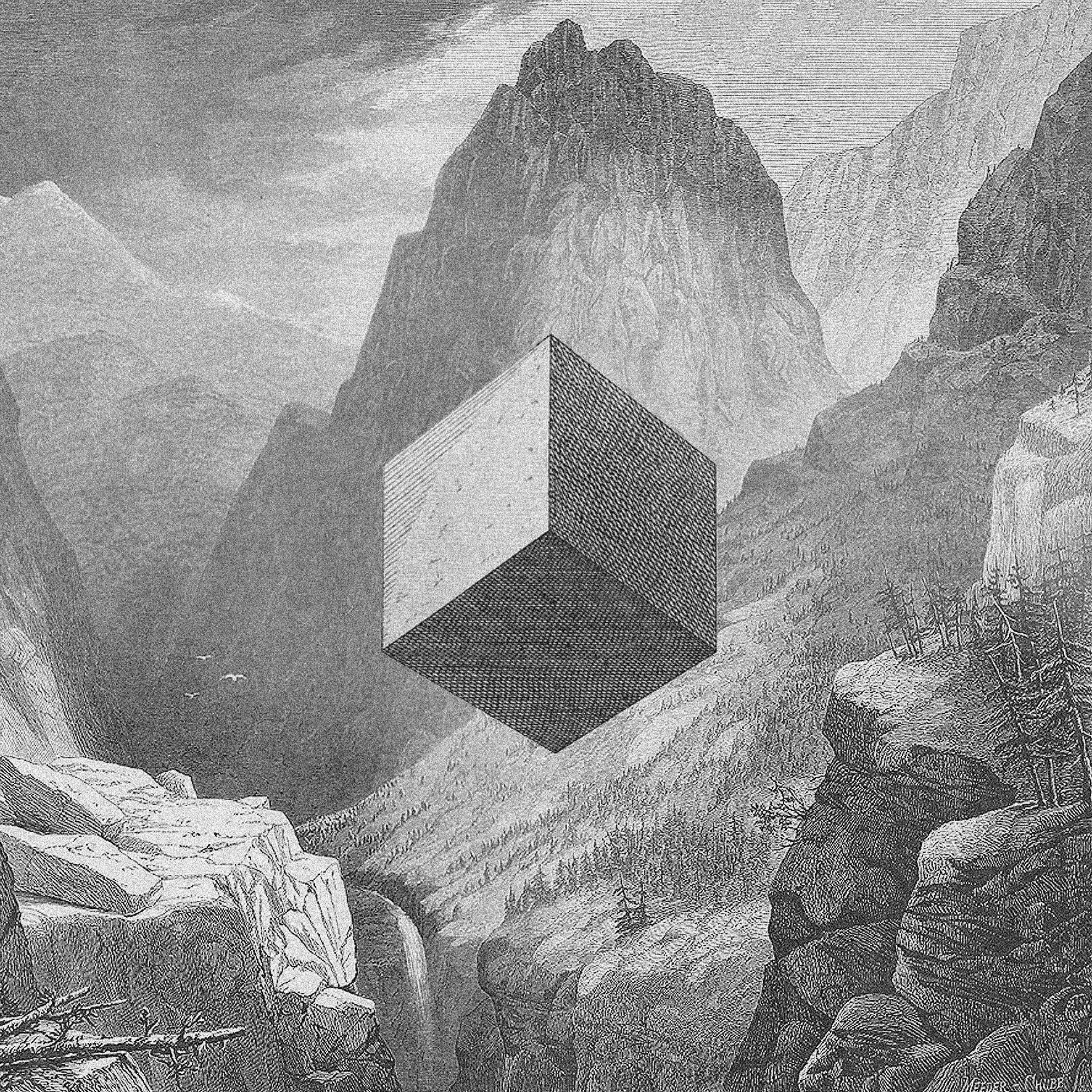 """Jakub Woynarowski, """"Faust"""", kolaż / grafika cyfrowa, napodstawie ryciny Josta Ammana, wgWenzela Jamnitzera (1568), 2011"""