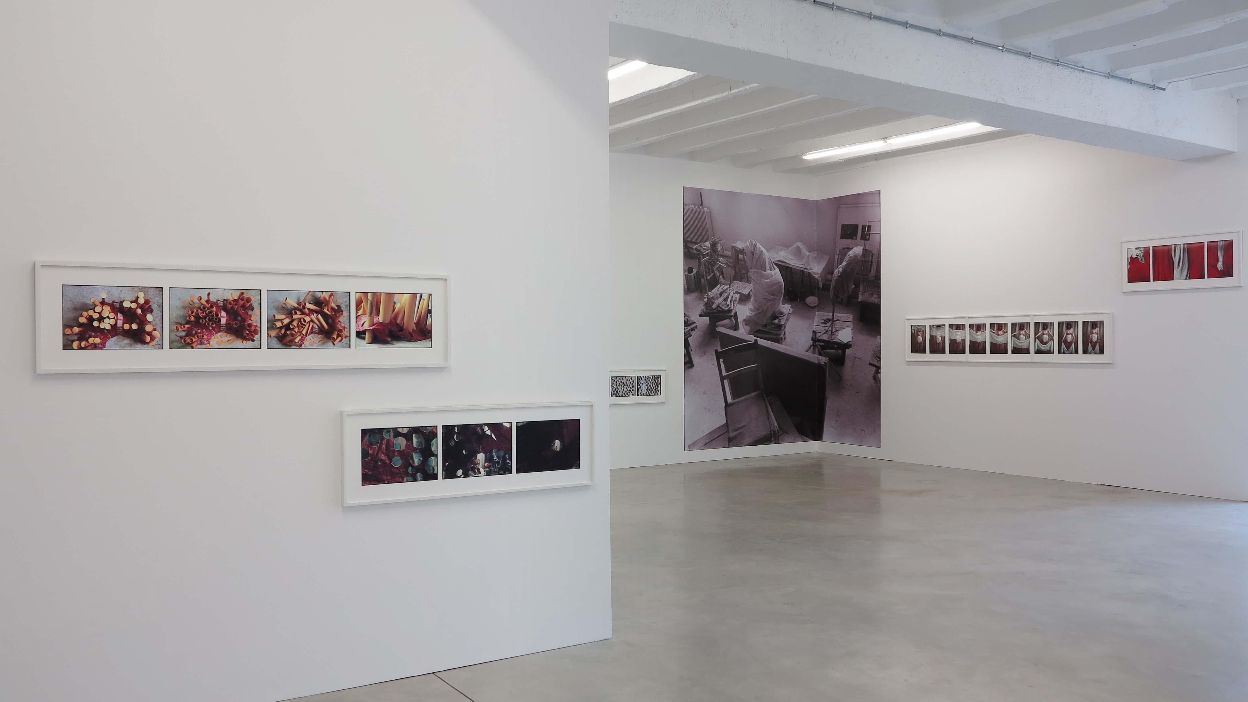 Zofia Kulik, Instead of Sculpture – Sequences 1968-71, widok zwystawy wgalerii ŻAK | BRANICKA, 2014