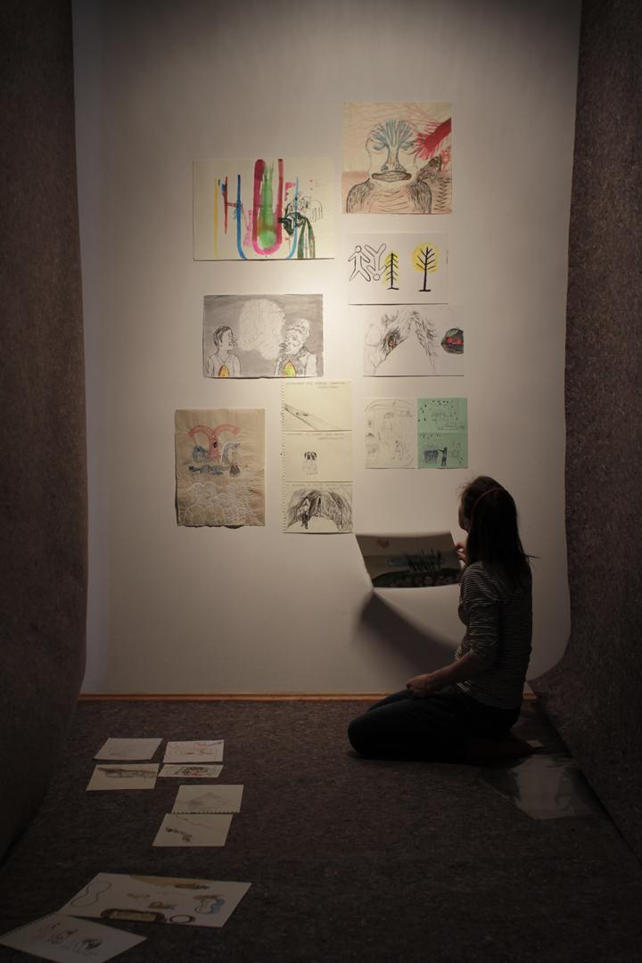 """Magdalena Starska wystawa """"Słońce jest Najważniejsze"""", fot.Anna Hatłas"""