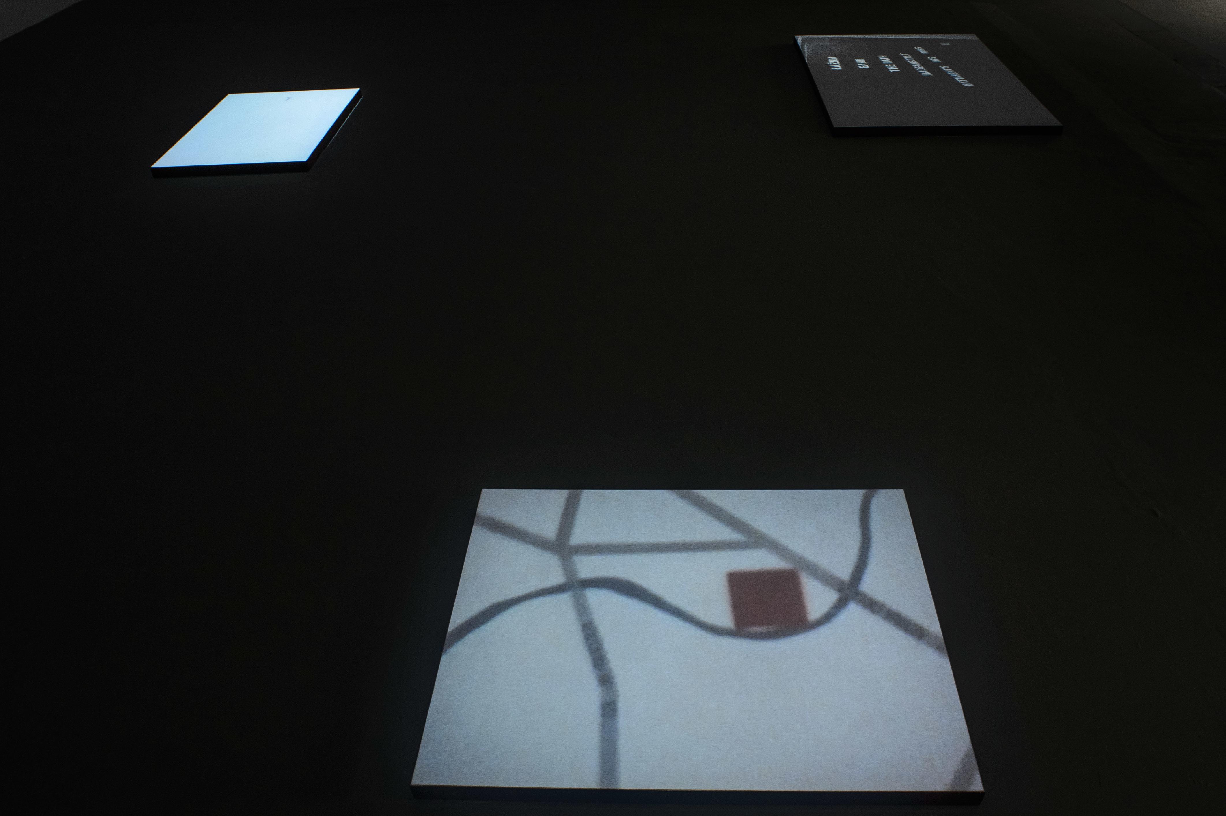 """Mirosław Bałka, """"Fragment"""", widok ogólny wystawy, Galeria Labirynt"""
