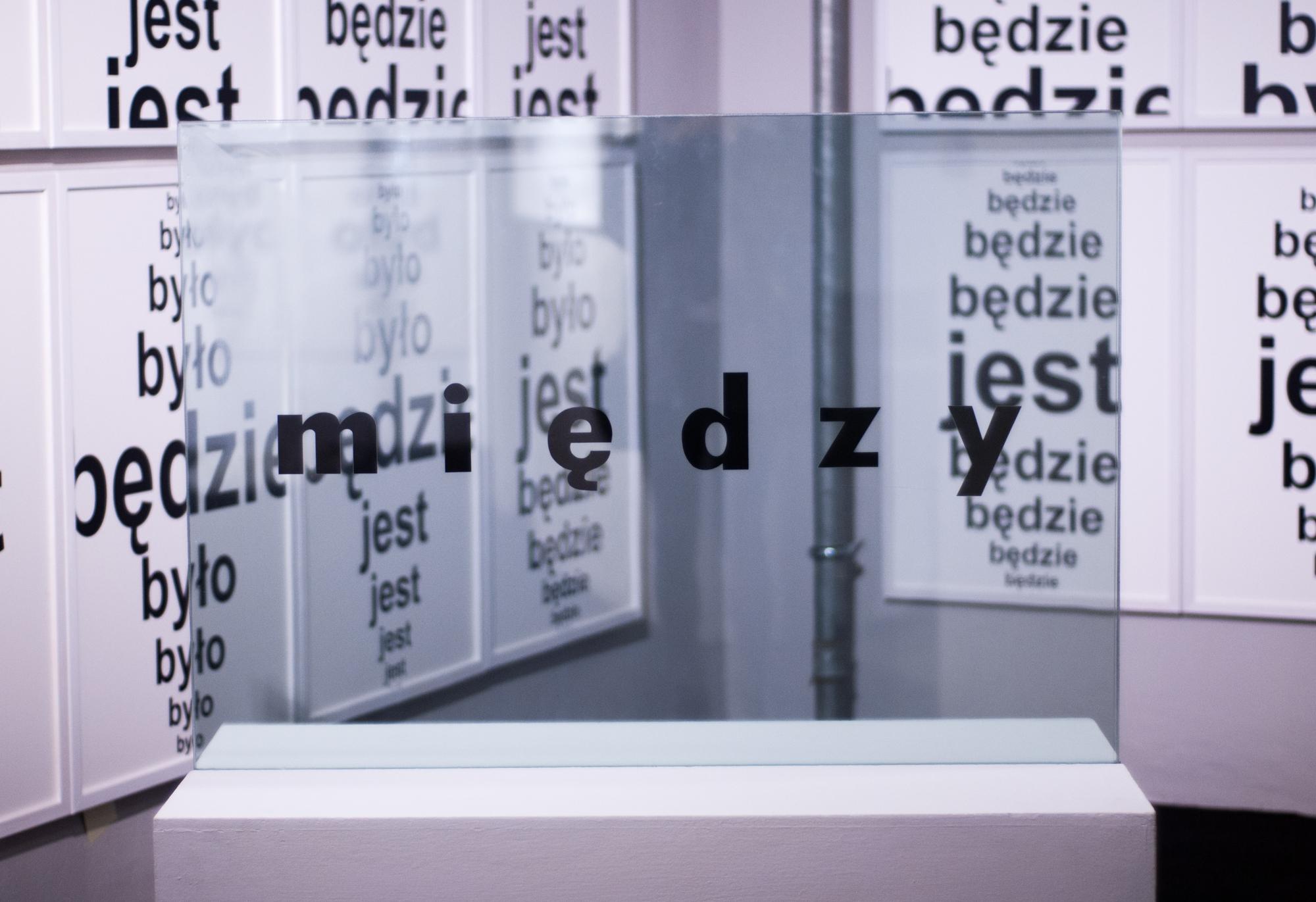 """Stanisław Dróżdż, """"Pomysły"""", widok nawystawę"""