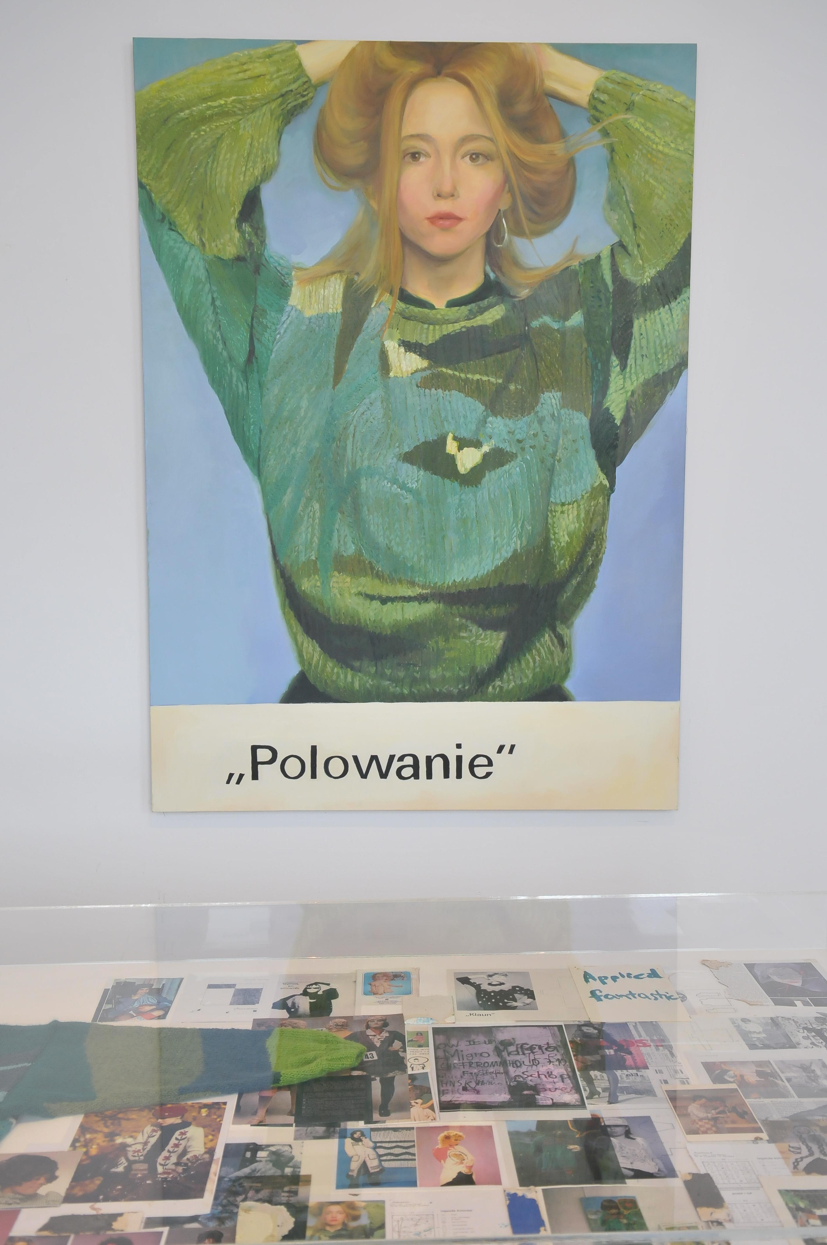 """Wystawa """"Paulina Ołowska. Czar Warszawy"""", Zachęta, 2014, fot.Marek Krzyżanek / Emo Group"""
