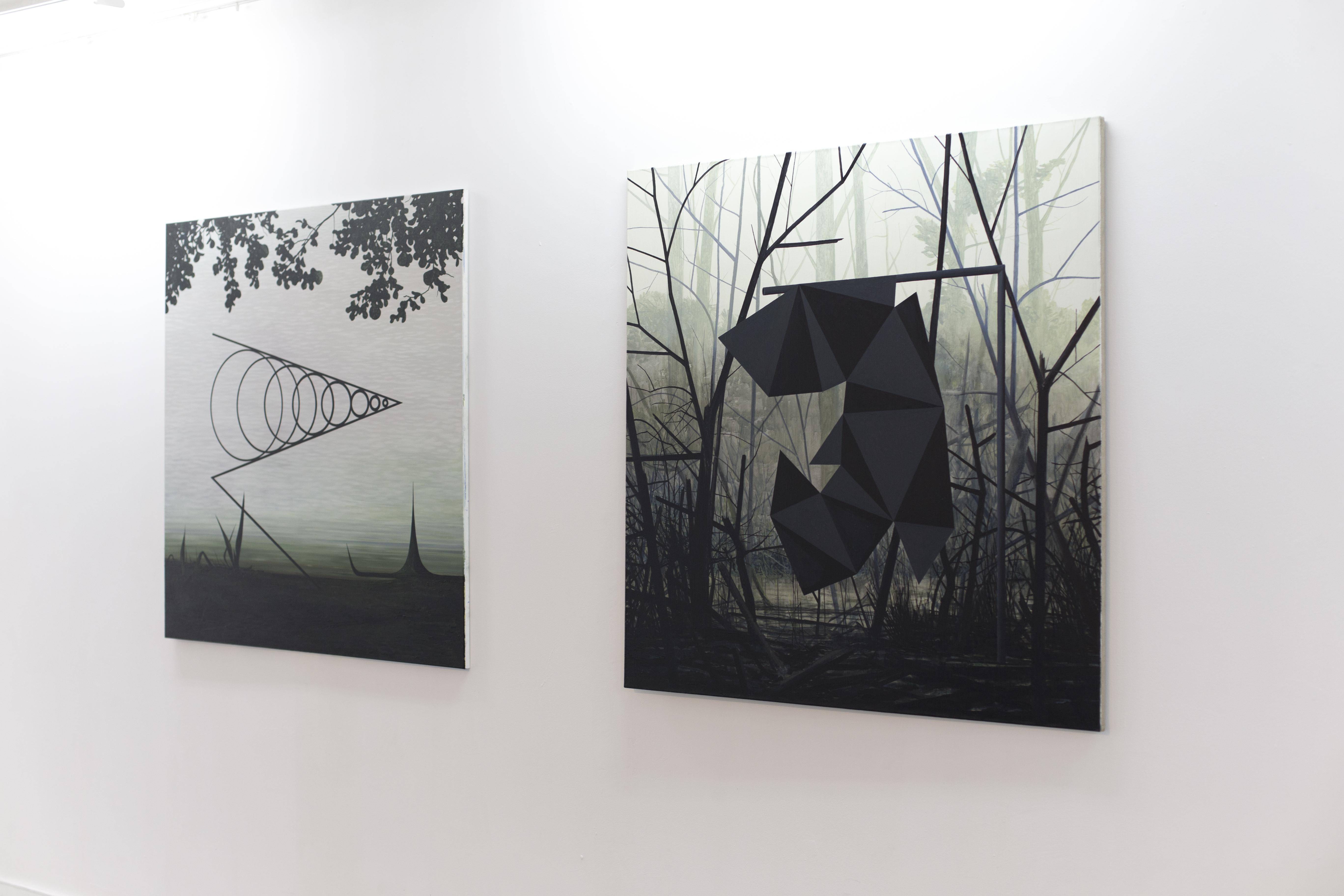 """Andrzej Tobis, 2. """"Stożek Macha iStrefa Ciszy"""", """"Wielościan Conelly'ego"""", 2014"""