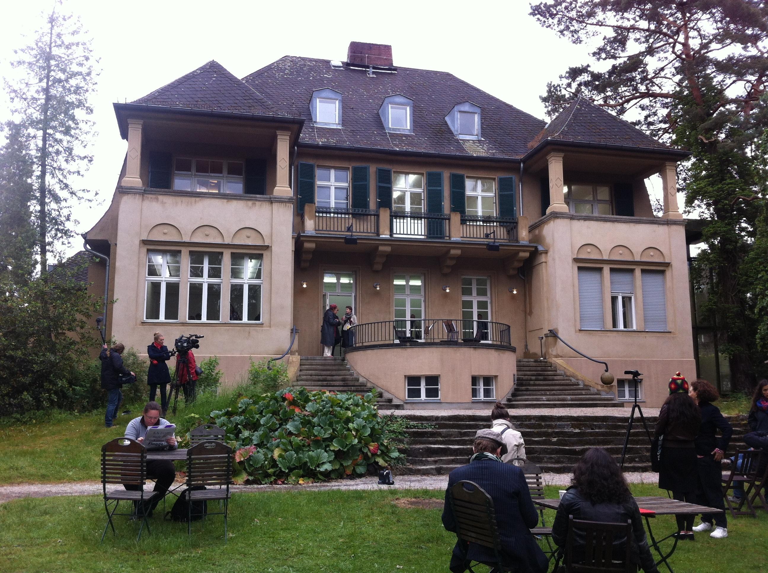 Haus am Waldsee, widok odstrony ogrodu, foto: K. Wielebska
