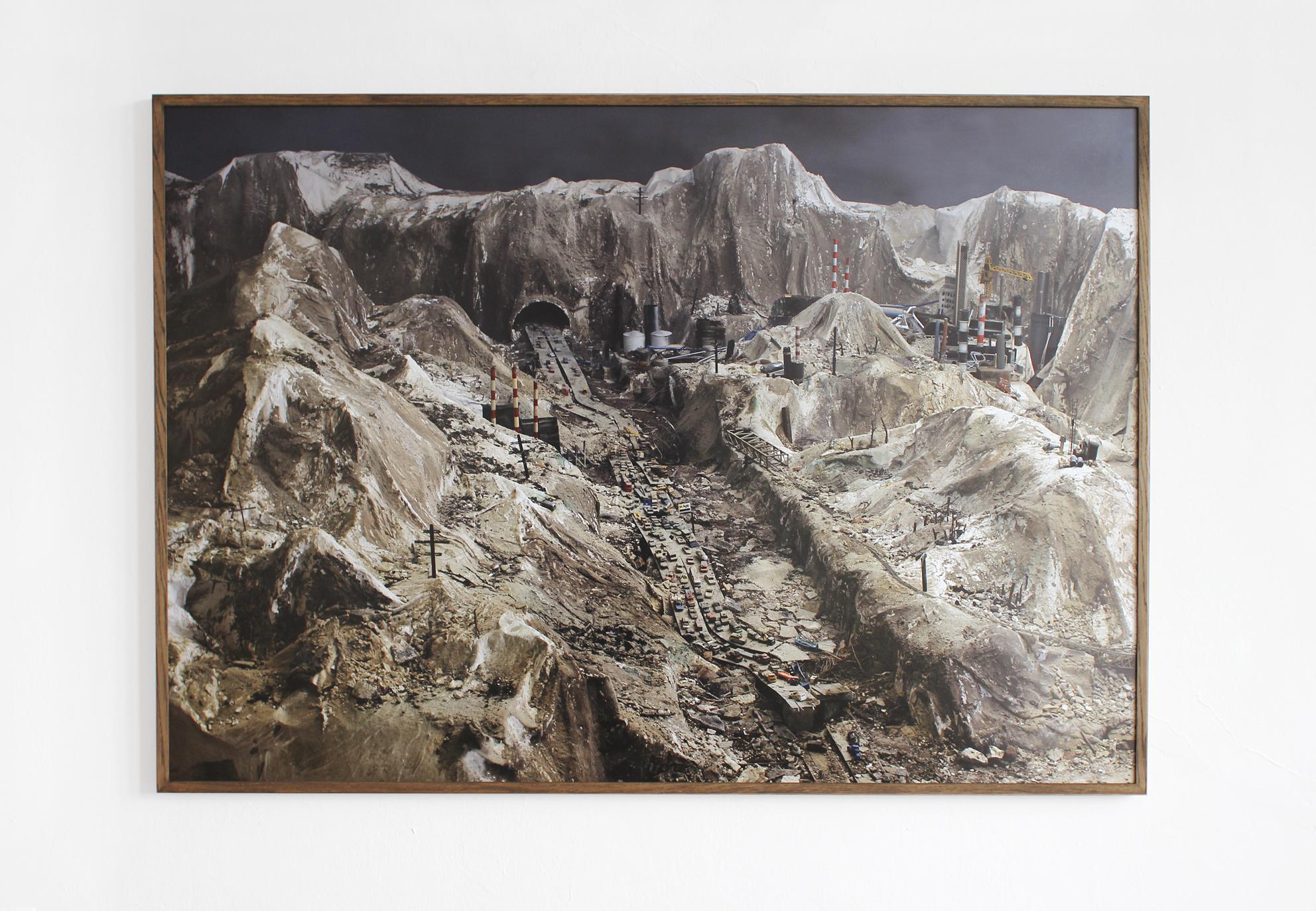 Christoph Draeger, Catastrophe 3, 2014, fotografia, wydruk cyfrowy