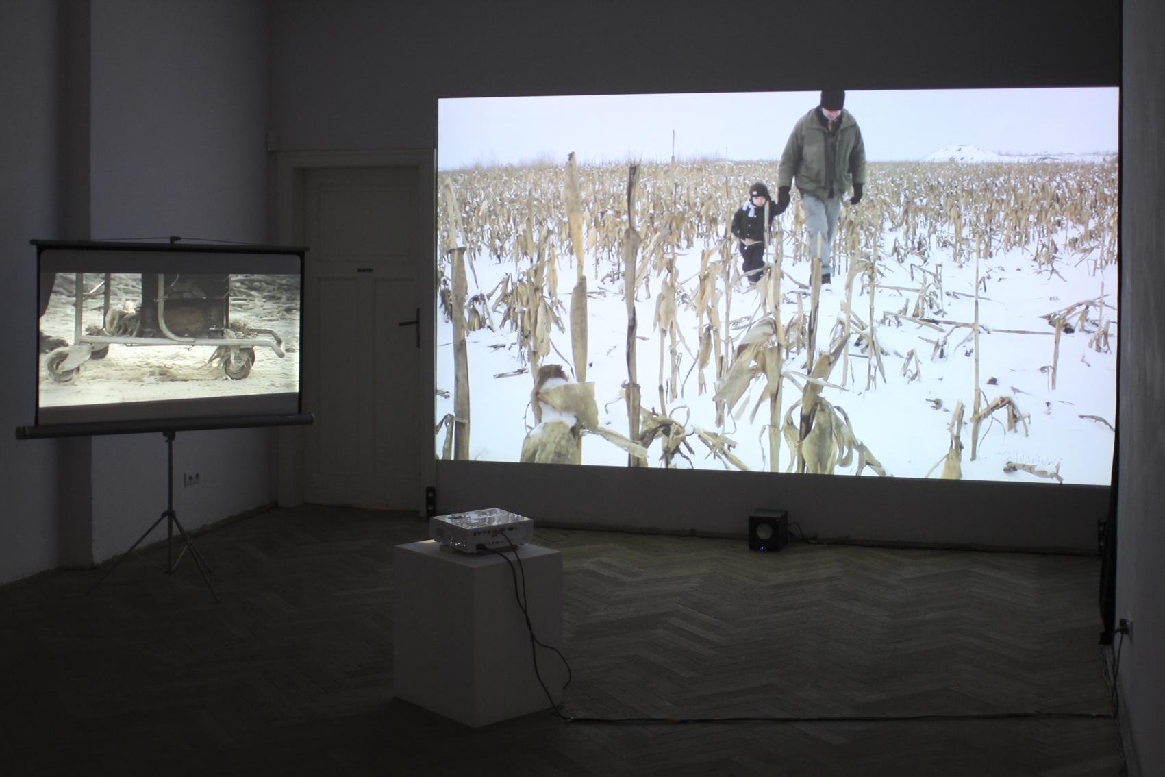 Christoph Draeger, The Rd, 2013, dwukanałowe wideo HD, 8 min