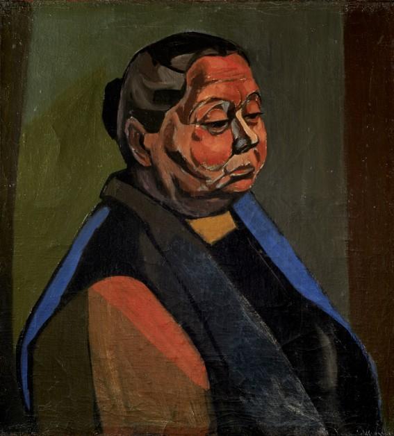 Andrzej Wróblewski, Portret modelki, 1956, kolekcja Staraków