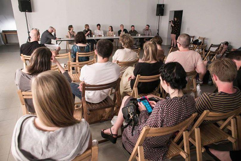 """Debata """"Rozprzestrzenienie"""" BWA Katowice, al.Korfantego 6, fot.bartekbarczyk.com"""