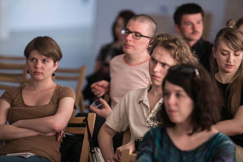 """Debata """"Rozprzestrzenienie"""" BWA Katowice, fot.bartekbarczyk.com"""