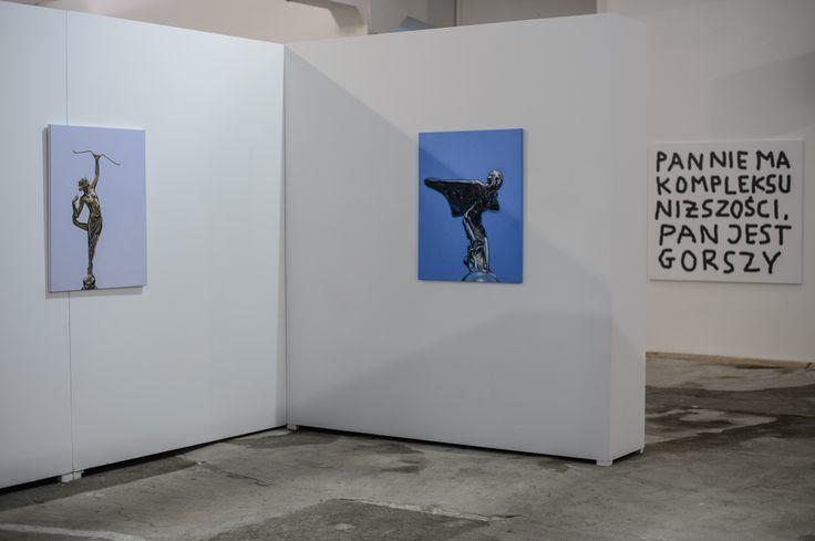 """""""Kompleksy ifrustracje"""", 31.01.2014 - 23.02.2014, Galeria Labirynt, Lublin, fot.W. Pacewicz"""