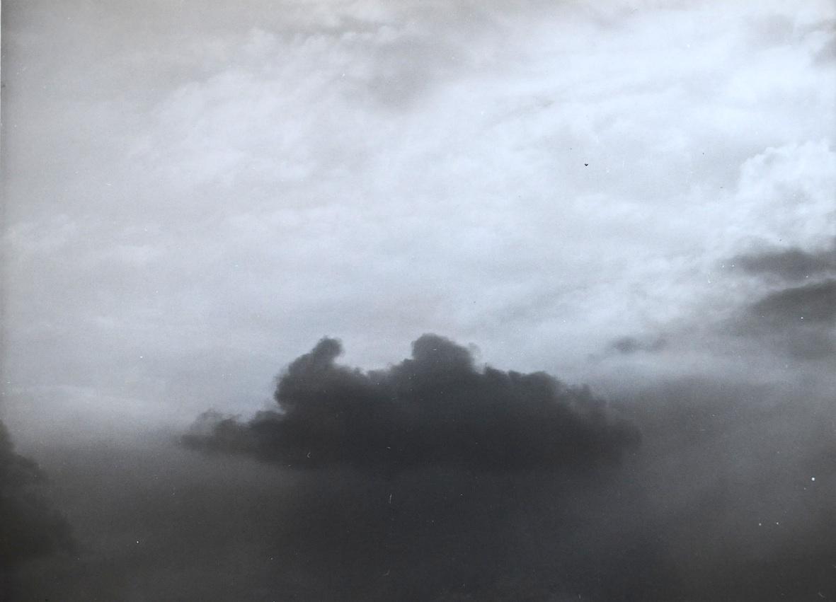 """Andrzej Jórczak, zniedokończonego cyklu """"Chmury"""", 1980"""