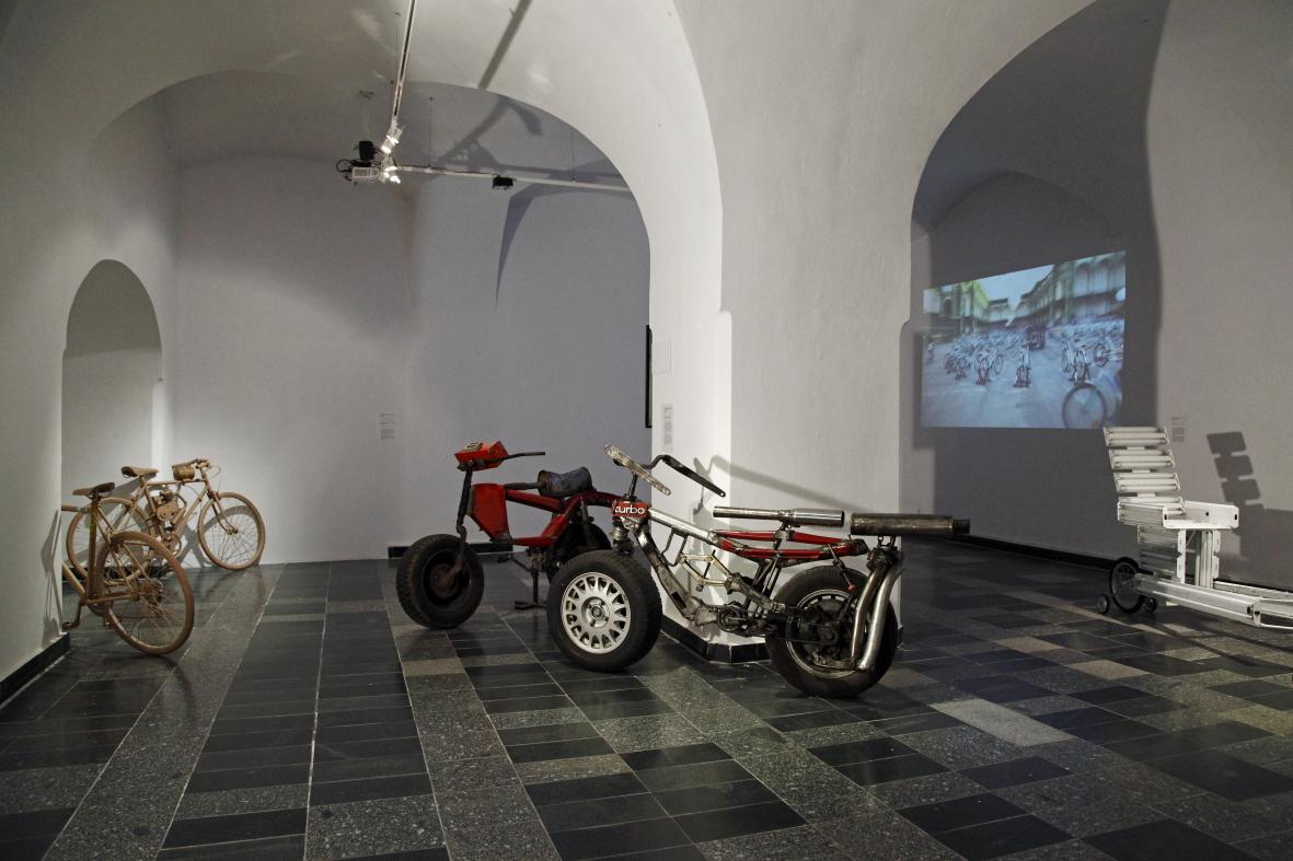 OUT OF STH, widok wystawy, fot.Justyna Fedec