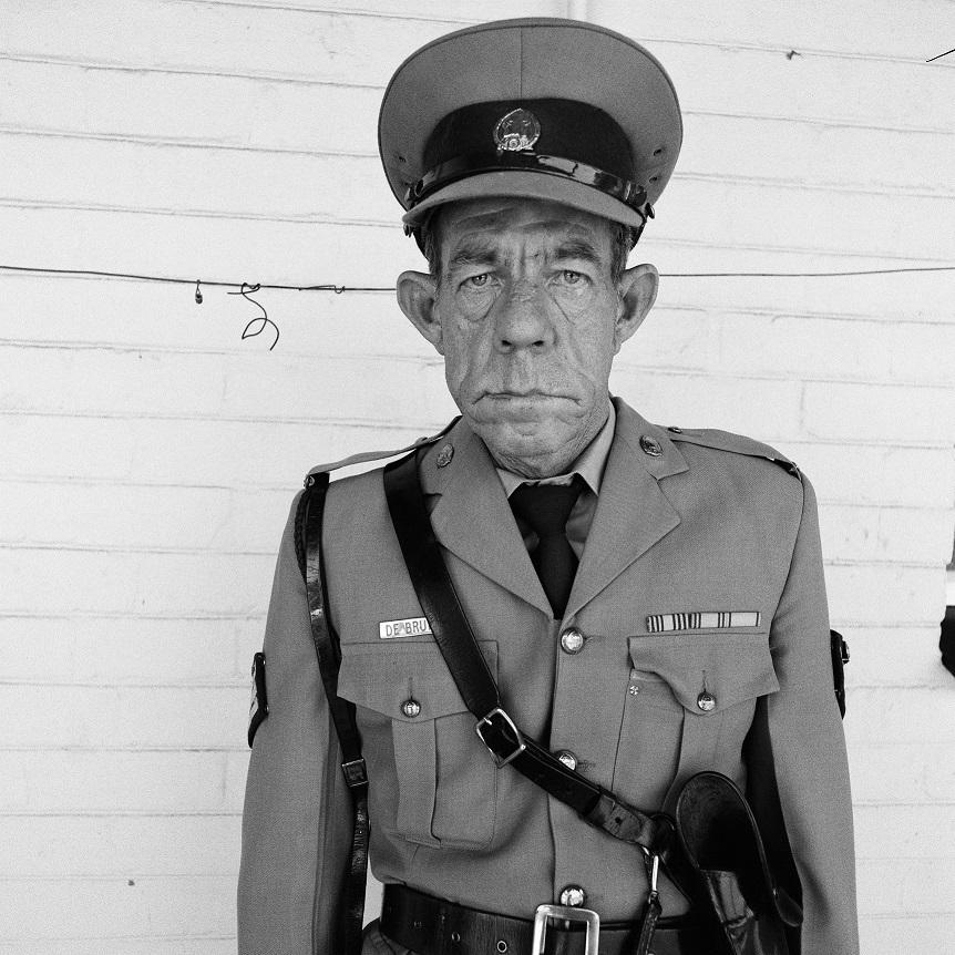 Sgt F de Bruin, Dep of Prisons empl, OFS, 1992