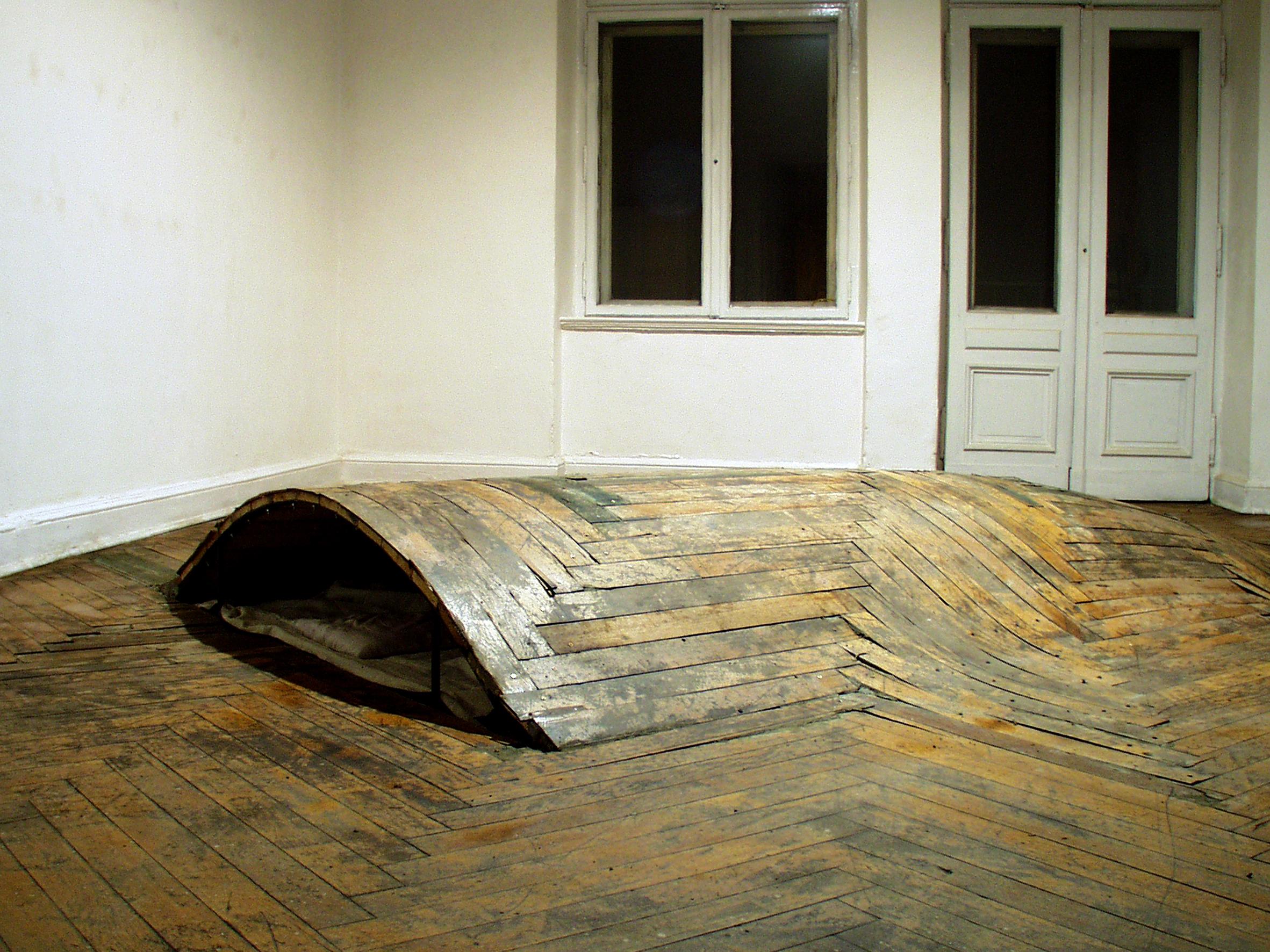 """Maciej Kurak, """"Dekonstrukcja"""", 2002"""
