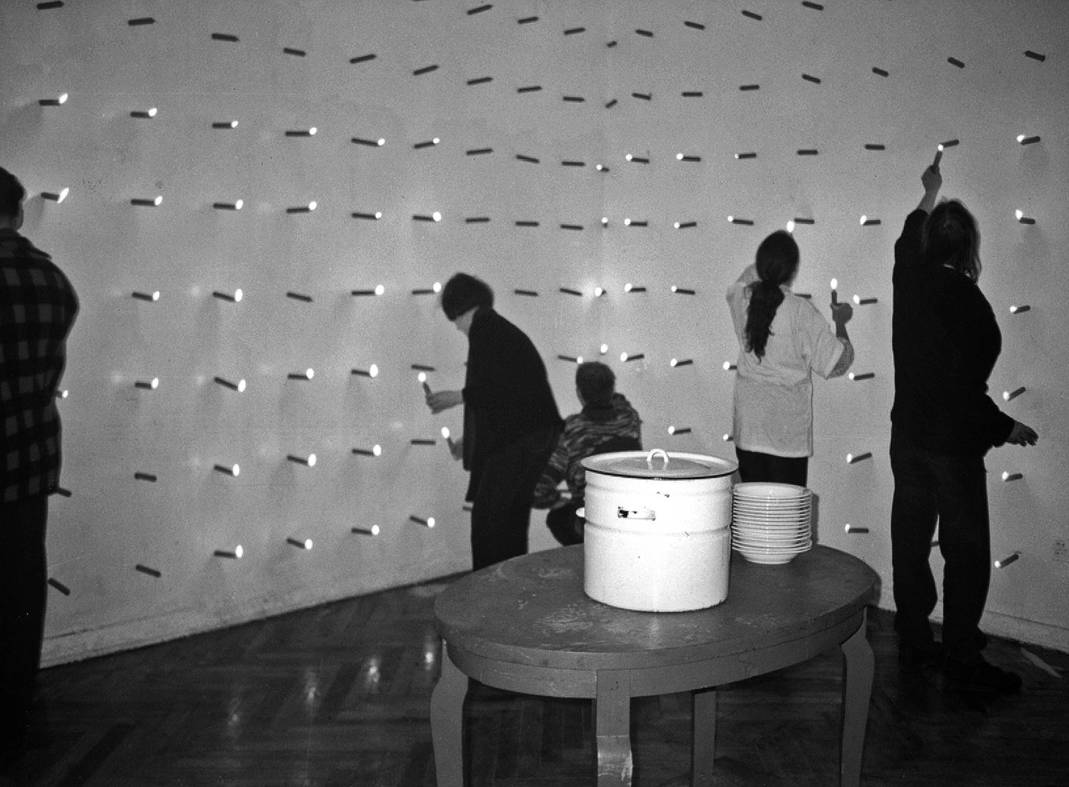 Ryszard Waśko, Posiłek dla biednych ibogatych, 1993