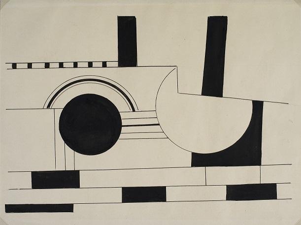 Fernand Leger, Rysunek, ok. 1920-25