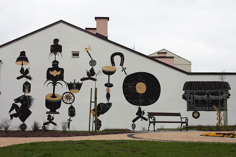 Stach Szumski, mural