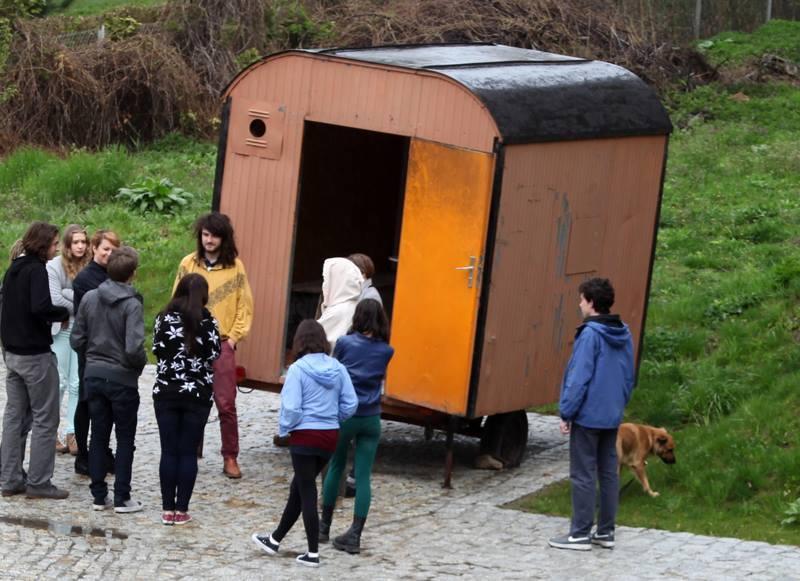 Warsztaty zdizajnu nomadycznego, prowadzenie: Katarzyna Roj, Stachu Szumski,