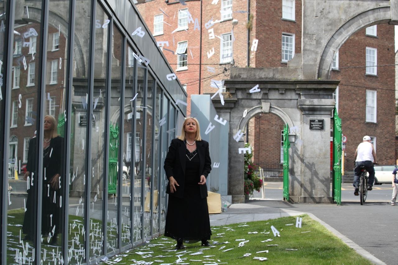 Ewa Partum, Active Poetry, Limerick 2014
