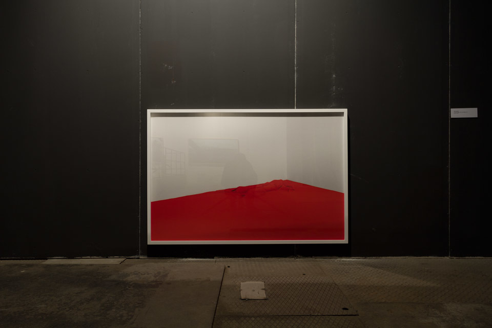 "Oskar Dawicki, ""To nie jest flaga / This is not a flag"", 2014"