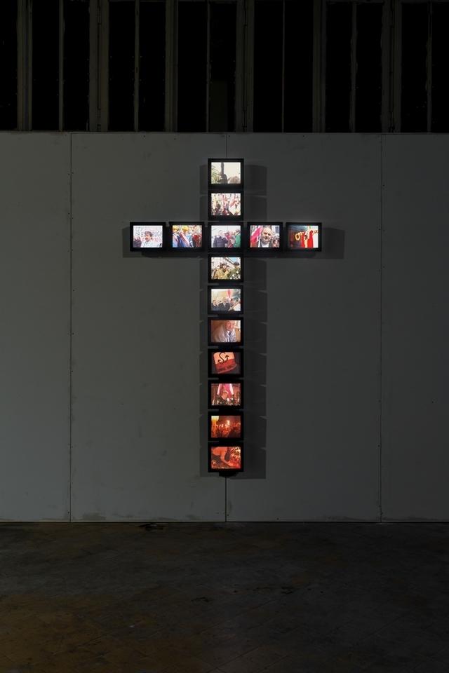 """Piotr Wysocki, """"Krzyż/Cross"""", 2001"""