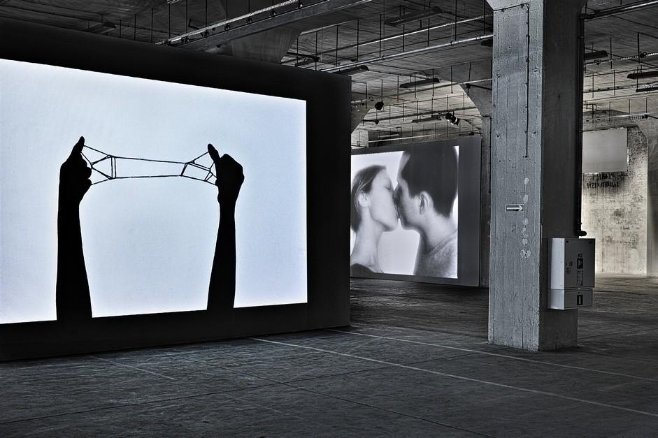 """Ed Pien, Zabawa sznurkiem w""""kocią kołyskę"""", wideo, 2012"""