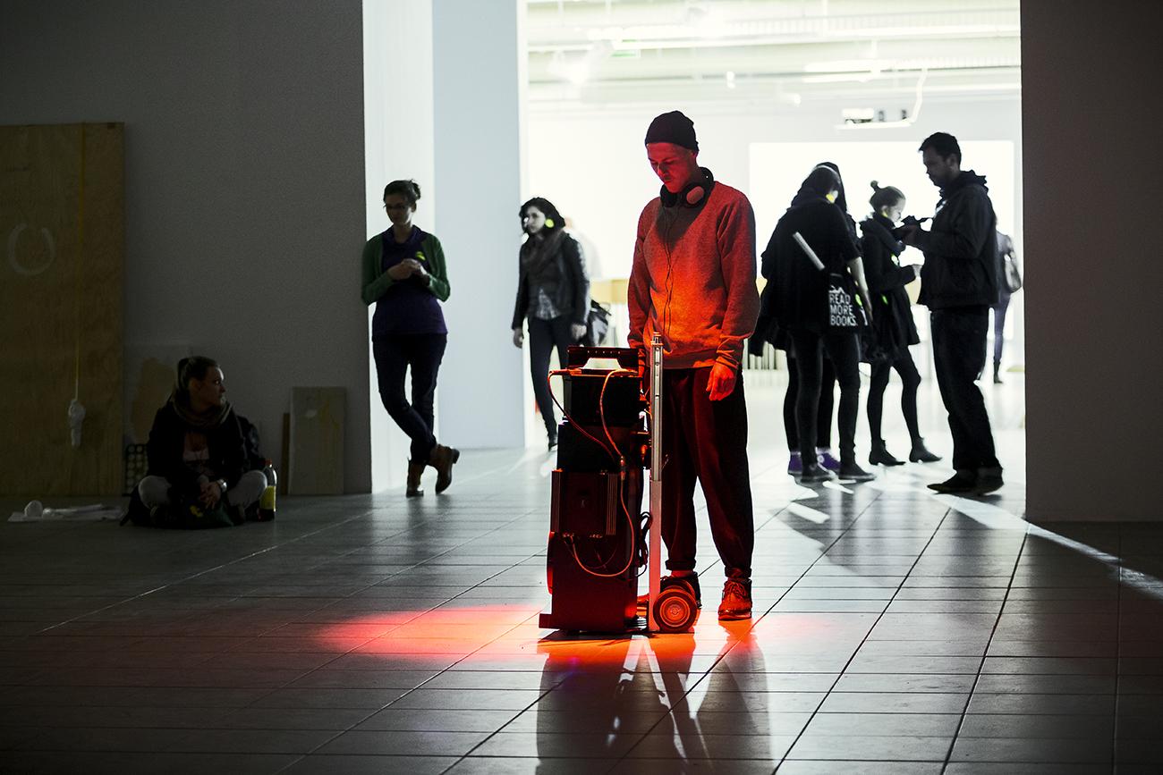 Łukasz Rodziewicz, 17 maja, Galeria BWA, audioperformance
