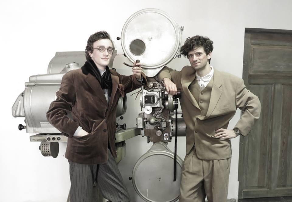 "Marcin Polak, ""Fotoperformance"", fot.Marcin Polak & Jerzy Grzegorski"