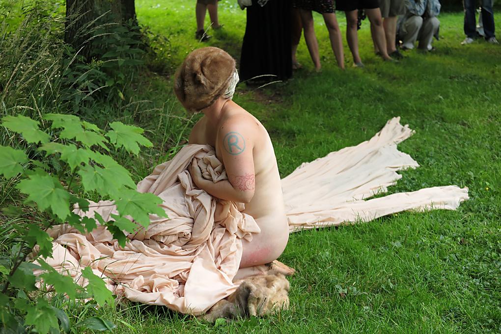 "Rita Marhaung, ""Second Skin for Sokolovsko"", fot.Marcin Polak & Jerzy Grzegorski"