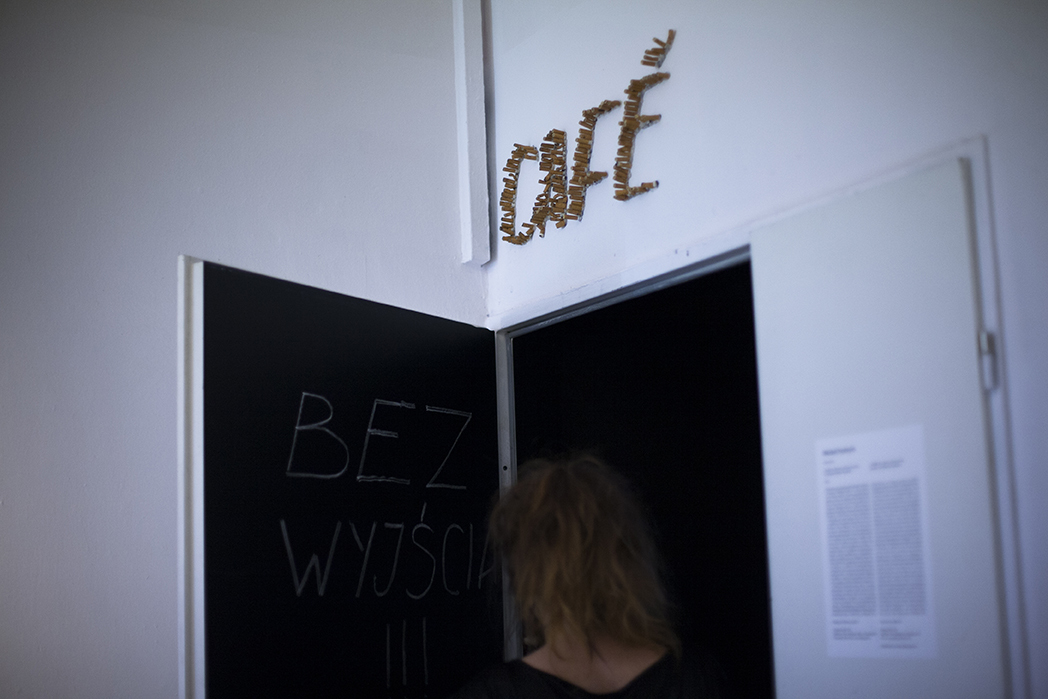 """Michał Frydrych, """"Café Cioran"""""""