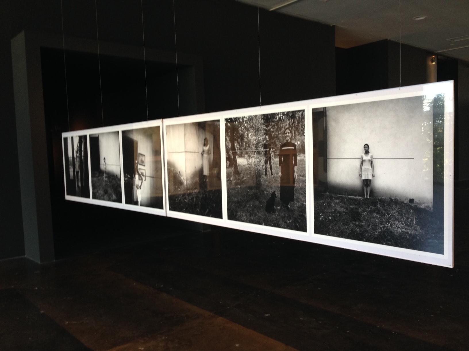 Edward Krasiński, widok wystawy, Biennale São Paulo, 2014