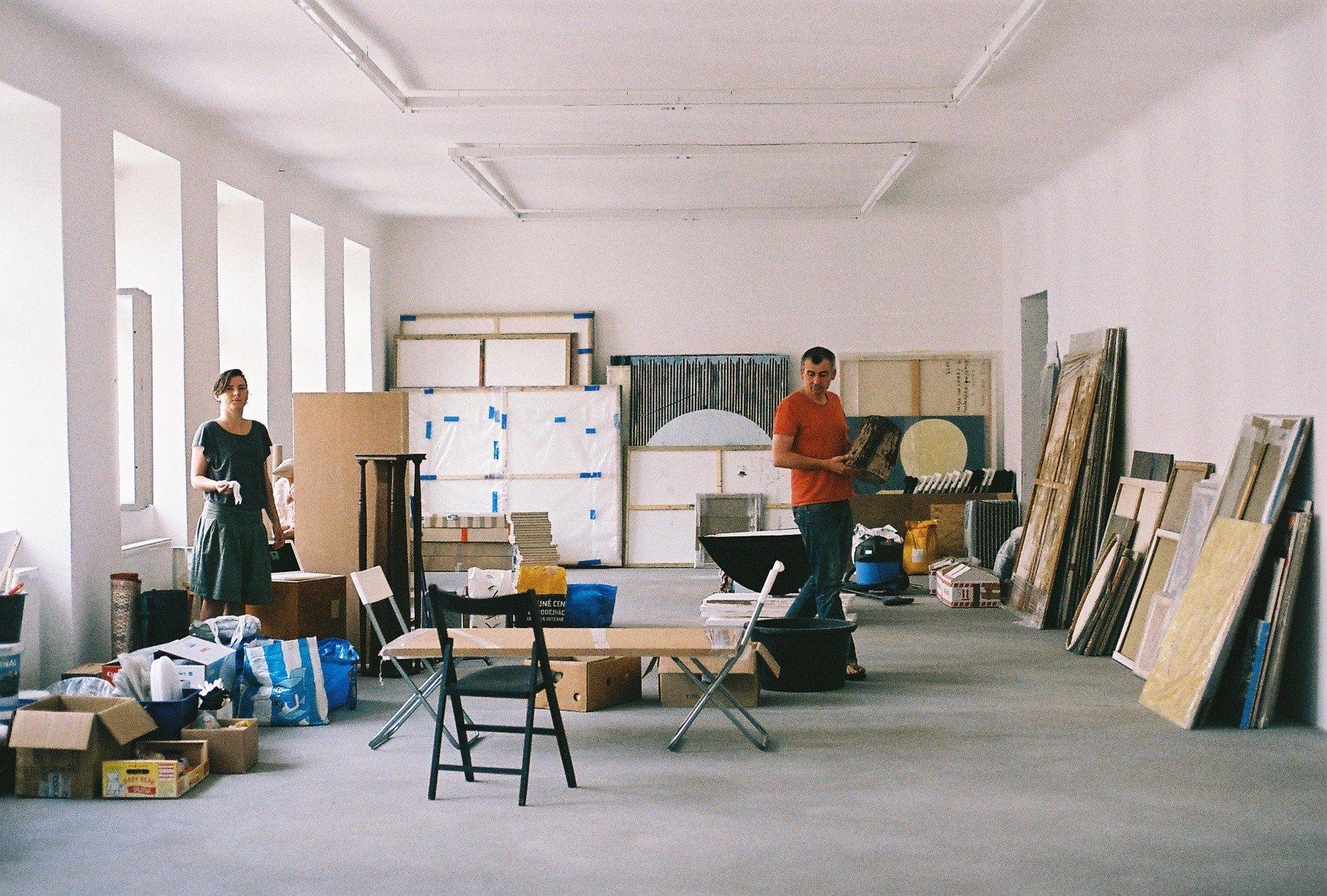 Galeria SVIT, Praga, nazdjęci Zuzana Blochova iMichal Mánek