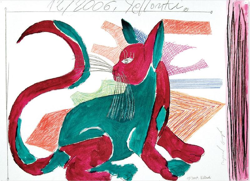 """Ryszard Grzyb, Kot plamiasty, cykl """"Puszcza"""", 2006"""