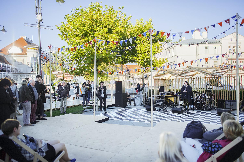 Otwarcie festiwalu, Plac Przyjaciół Sopotu