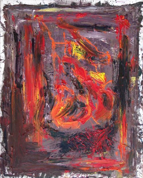 Jacek Sempoliński, Genit, 2001, olej, płótno