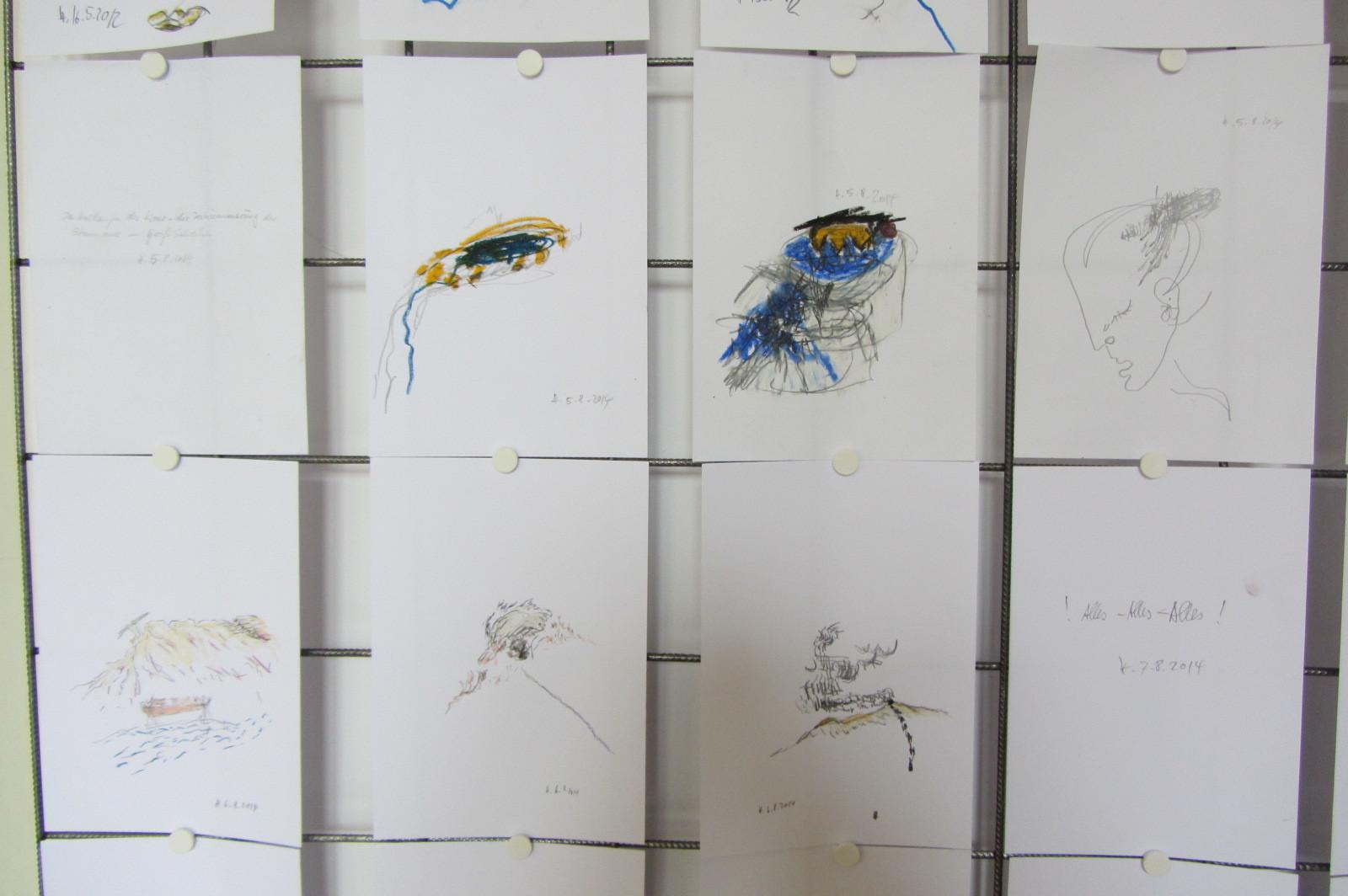 Oko pamięci, rysunki Horsta Hoheisela