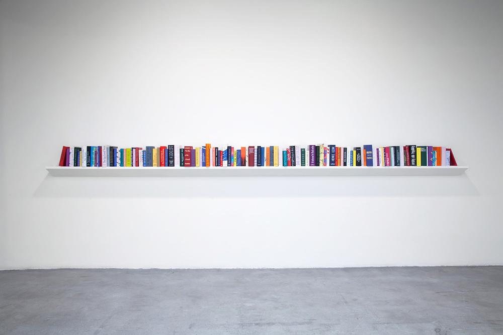 Agnieszka Kurant, Phantom Library,2011-2012