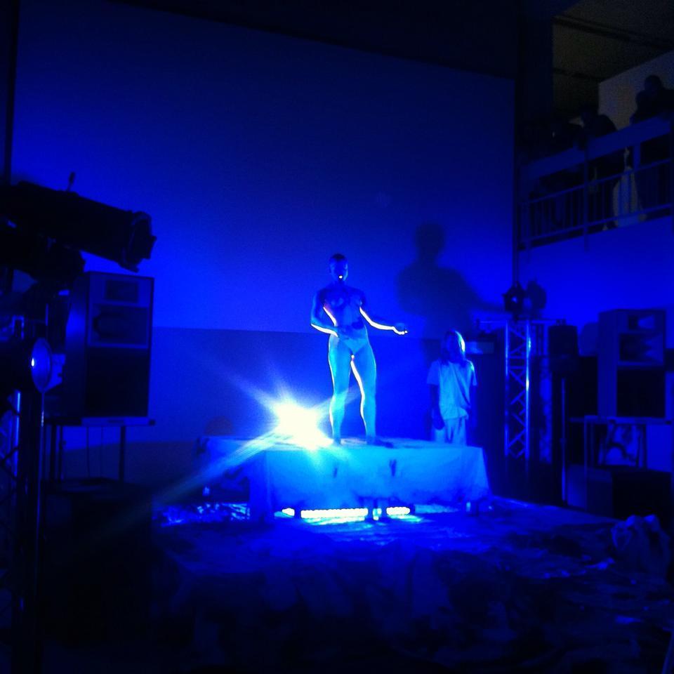 Muzeum Sztuki Nowoczesnej, performance Boychild