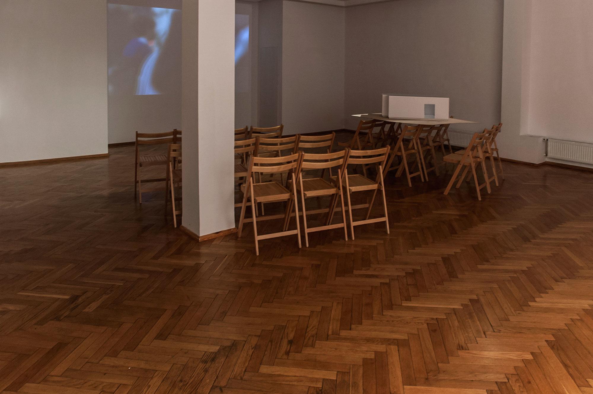 Justyna Scheuring, widok wystawy, BWA Olsztyn