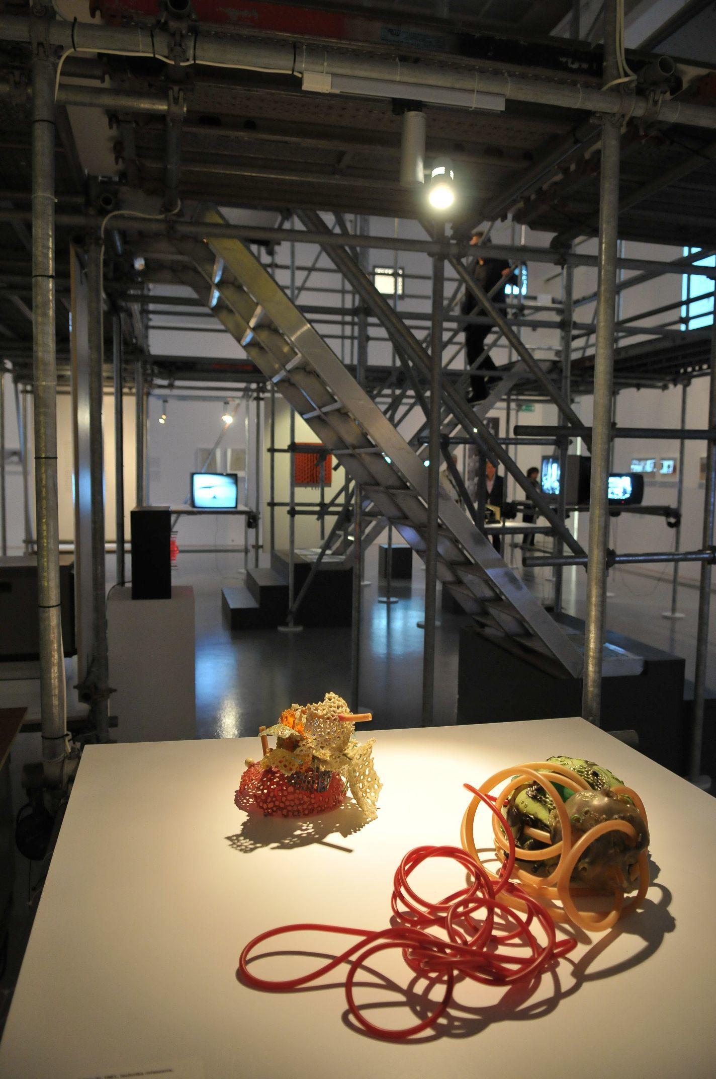 Wystawa Kosmos wzywa! Sztuka inauka wdługich latach sześćdziesiątych, Zachęta, 1.07.2014 - 28.09.2014, fot.Marek Krzyżanek