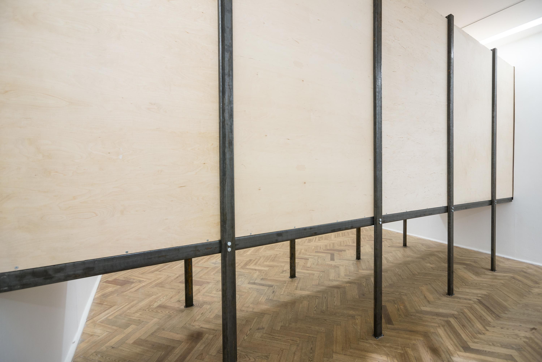 """Mirosław Bałka, """"LUFZUG"""", 2014, Galeria Foksal, fot.Bartosz Górka"""