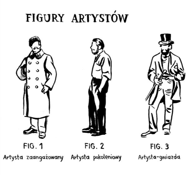 Marcin Maciejowski, Figury artystów, 2014
