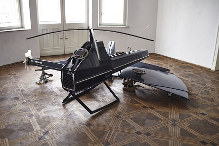 VOLVO 240 (Transformed Into 4 Drones), 2014