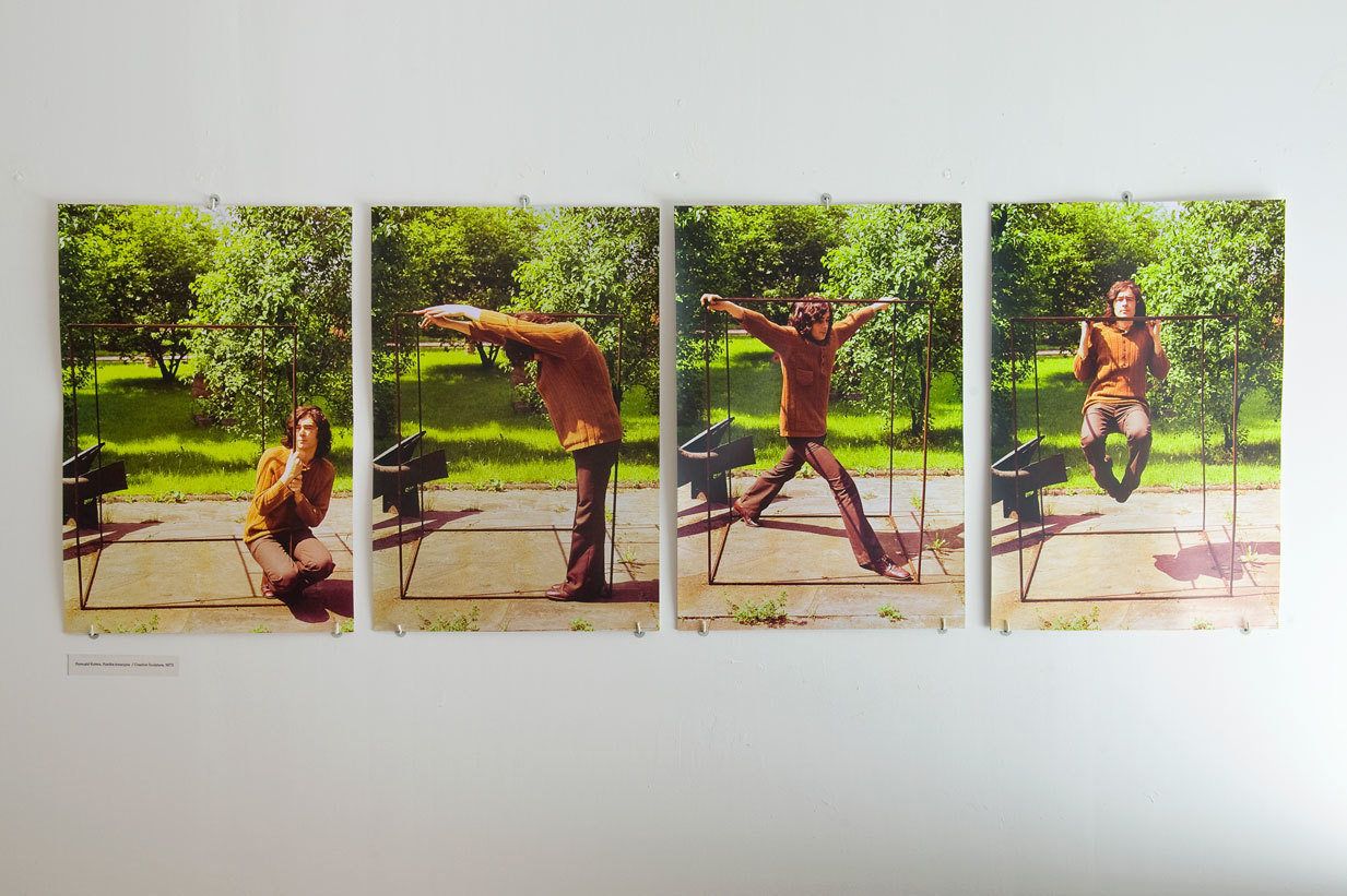 """Romuald Kutera, """"Rzeźba kreacyjna"""", 1973"""