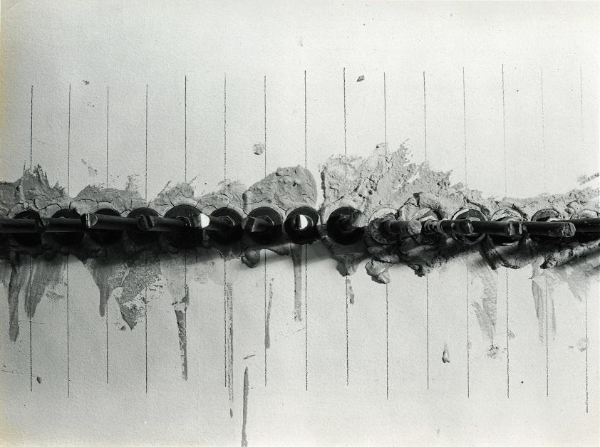 Mikołaj Smoczyński,  Przejście, Galeria Foksal wWarszawie, 1995